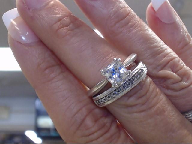 Lady's Silver Wedding Band 925 Silver 4.1dwt