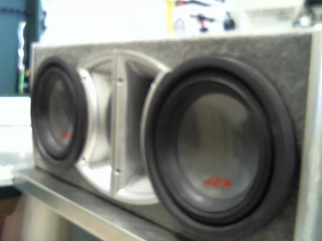 "ALPINE ELECTRONICS Car Audio 10"" SUBS IN BOX"