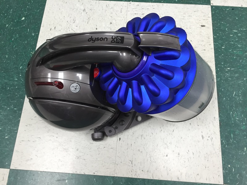 Dyson DC39 Animal - Purple Canister Vacuum W/ Attachments