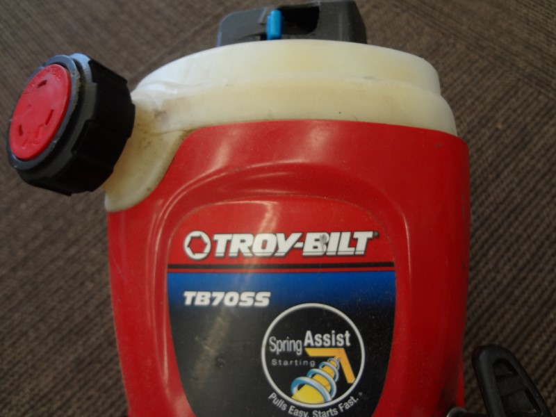 TROY BILT TB70SS 2-CYCLE GAS TRIMMER WITH STRAIGHT SHAFT **HEAD ONLY**