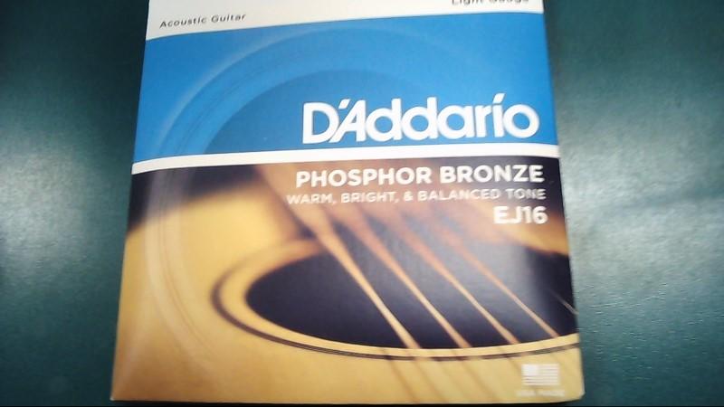 D'ADDARIO Musical Instruments Part/Accessory EJ16