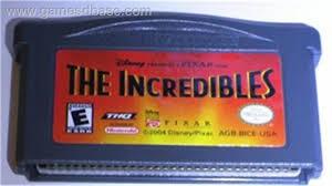 NINTENDO Nintendo GBA Game INCREDIBLES GBA