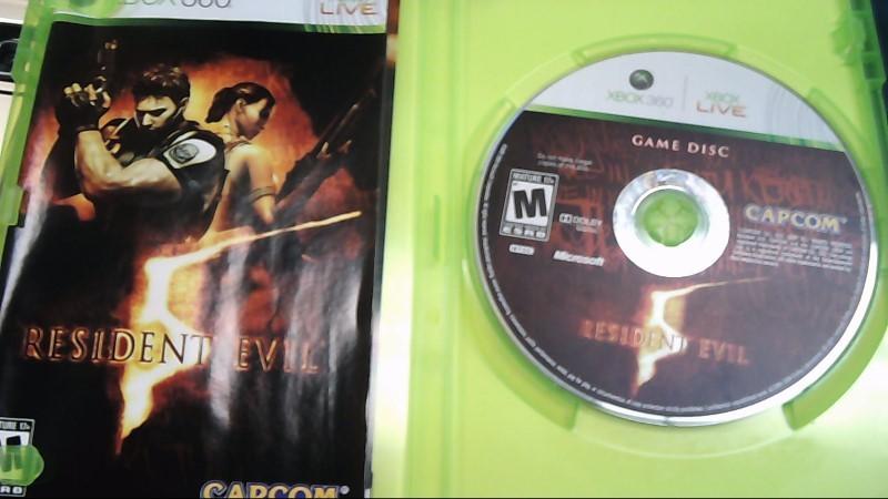 CAPCOM Microsoft XBOX 360 Game RESIDENT EVIL