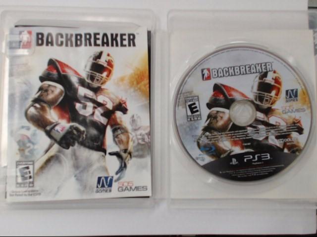 Sony PlayStation 3 Game Backbreaker