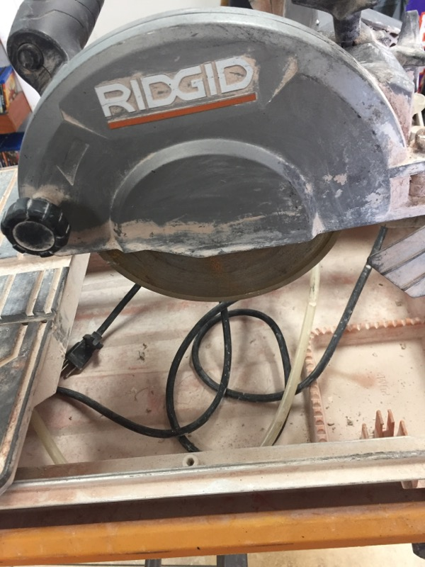 RIDGID TOOLS Tile Saw R4030