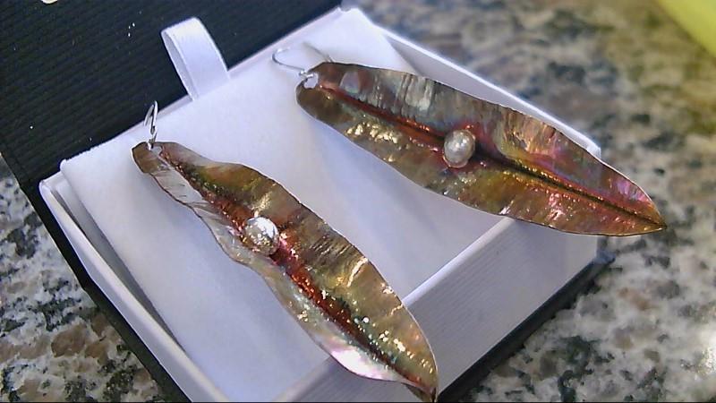 Earrings Copper 7.6g