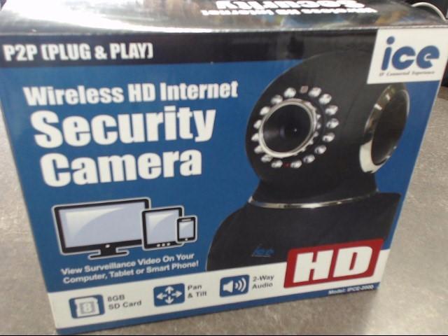 IP IPCE-2000 SECURITY CAMERA