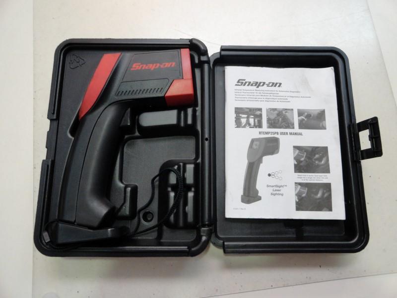 Snap-On RTEMP25PB SmartSight Laser Sighting Thermometer w/ Manual & Case