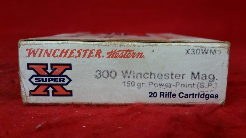 Winchester 300 Win Mag 150gr Power Point - 20 Rounds