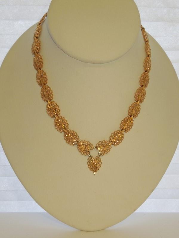 Gold Fashion Chain 18K Rose Gold 24.9g
