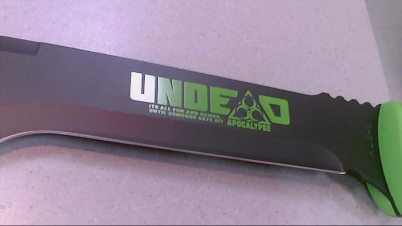 United Cutlery Undead Apocalypse Long Knife w/ Black Sheath