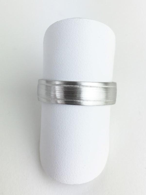 Platinum Wedding Band 950 Platinum 5.1g Size:10