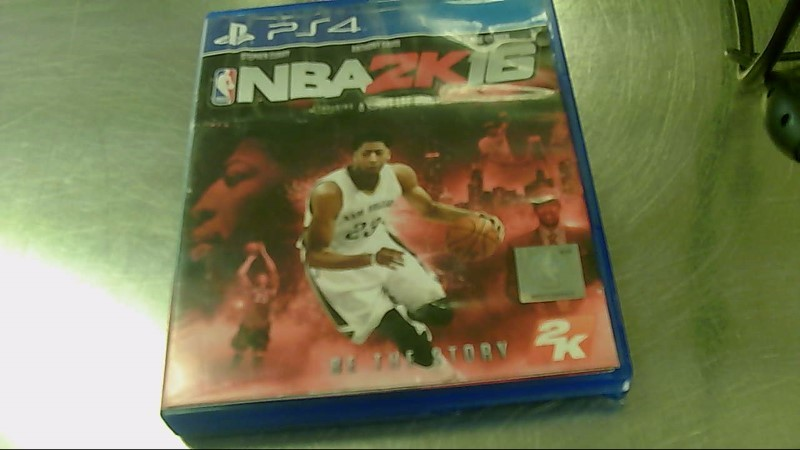 SONY PS4 GAME NBA 2K16