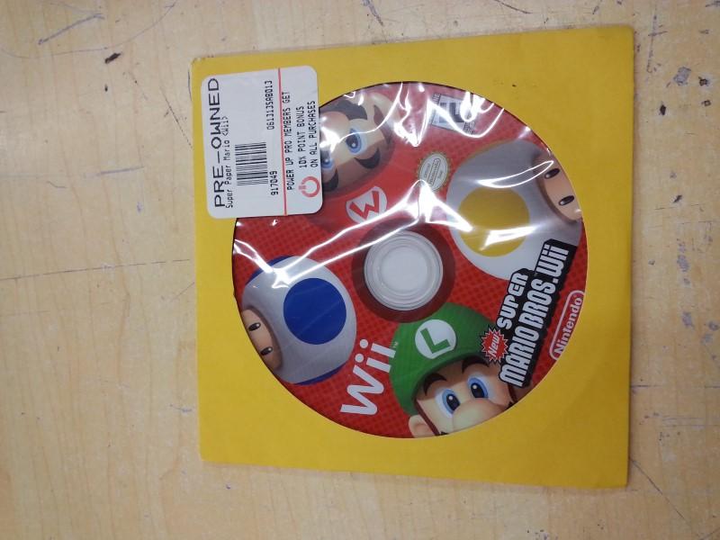 NINTENDO Nintendo Wii Game NEW SUPER MARIO BROTHERS GAME