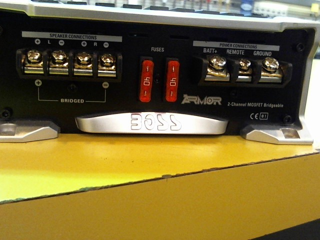 BOSS Car Amplifier ARMOR AR3000.2