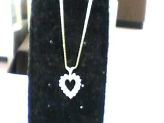 Diamond Necklace 16 Diamonds .48 Carat T.W. 10K Yellow Gold 3.3dwt