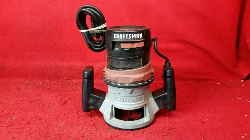 CRAFTSMAN 1-1/2 H.P. Fixed Base Router #315.175040