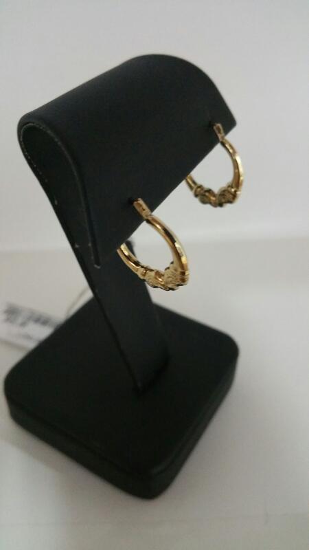 FASHION Gold Earrings 10K Yellow Gold 0.3dwt