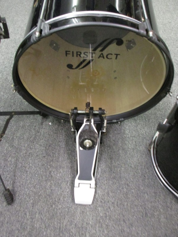 FIRST ACT JUNIOR 4 PC DRUM SET, LOCAL PICKUP ONLY