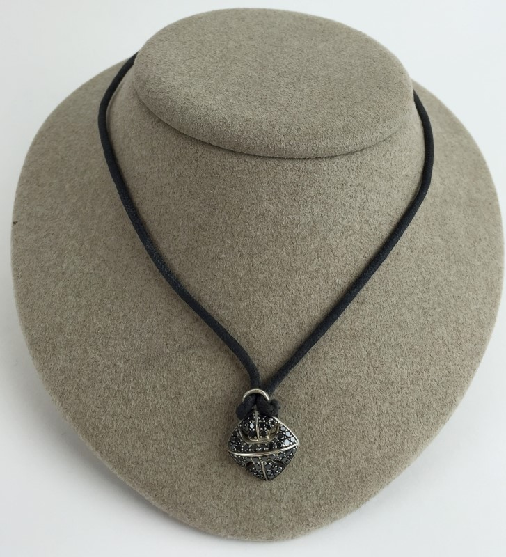 David Yurman Armory Amulet Cord Necklace