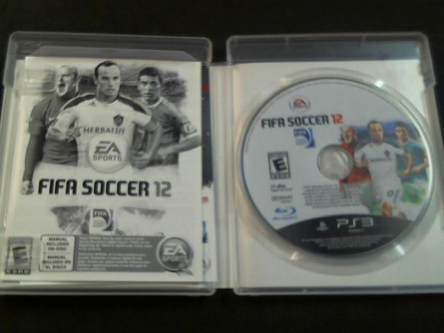 PlayStation 3 Game FIFA SOCCER 12