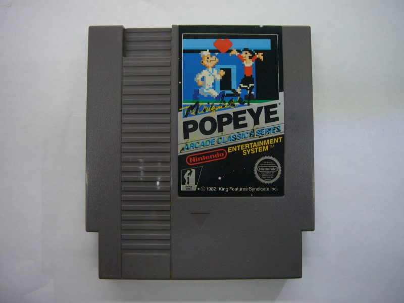 NINTENDO NES Game POPEYE *CARTRIDGE ONLY*