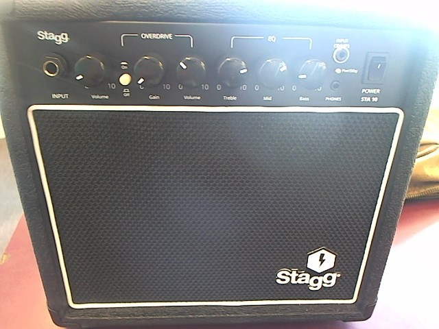 STAGG MUSIC Electric Guitar Amp STA 10