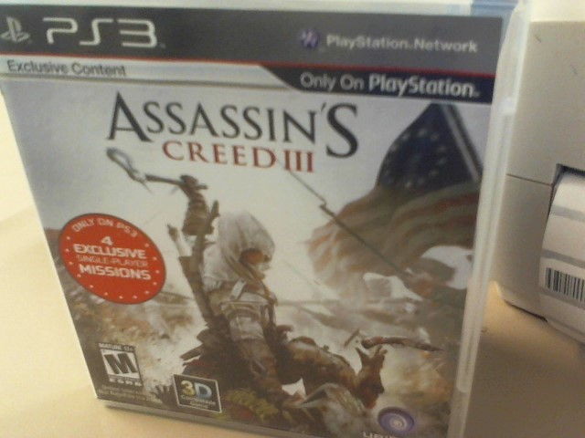 ASSISSIN'S CREED 3