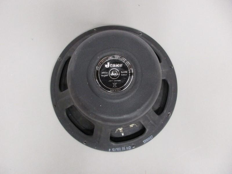 """JENSEN JET BLACKBIRD P12/100 BB 8 OHM 12"""" SPEAKER, NEEDS RE-CONING"""