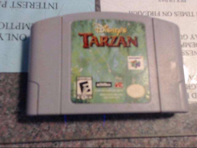 NINTENDO Nintendo 64 Game DISNEY'S TARZAN