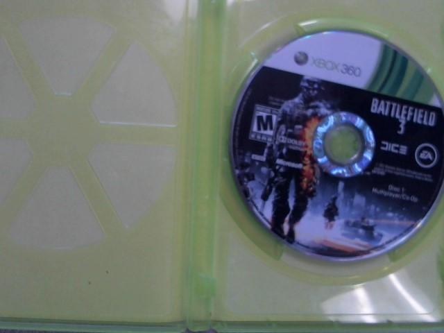 MICROSOFT Microsoft XBOX 360 Game BATTLEFIELD 3 - XBOX 360