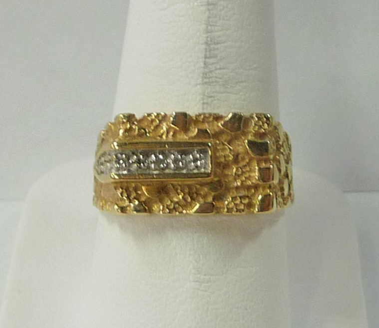 Gent's Gold Ring 10K Yellow Gold 3.5dwt