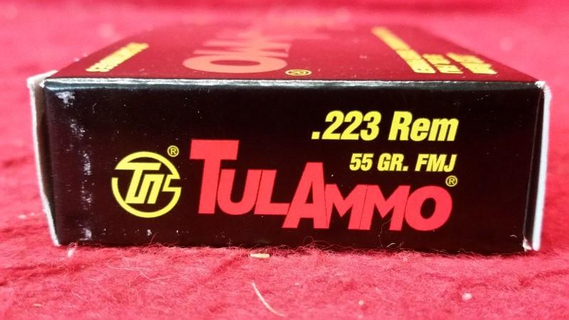 Tula Ammo 223Rem 55gr FMJ - Steel Case