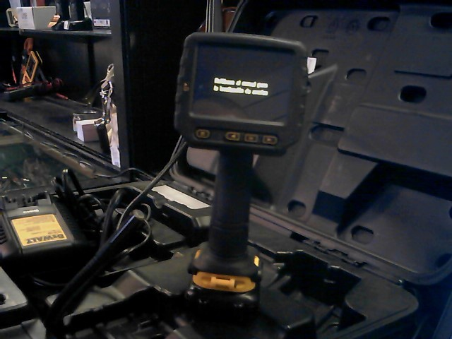 DeWALT DCT411S1 12V MAX 9mm Inspection Camera with Wireless Screen Kit