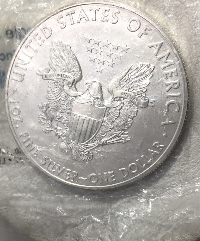 2013 American Silver Eagle 1 oz. UNC - Little Coin Co. Package