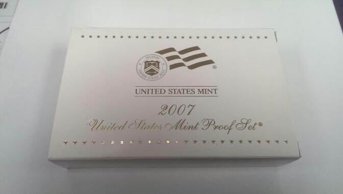 UNITED STATES 2007 MINT PROOF SET