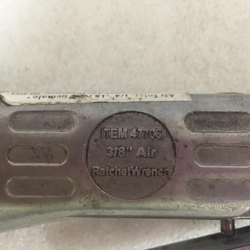 CENTRAL PNEUMATIC Air Ratchet 47706