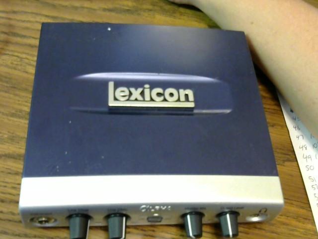 LEXICON Computer Recording ALPHA