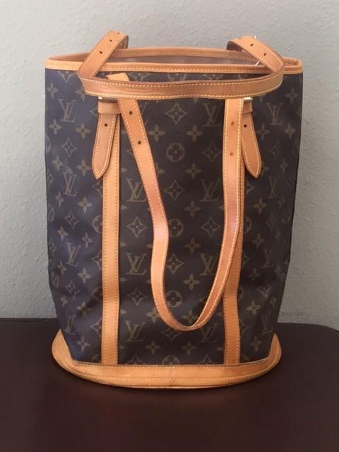 LOUIS VUITTON Handbag MONOGRAM GM BUCKET BAG