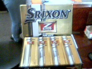 SRIXON Golf Accessory Z STAR PURE WHITE