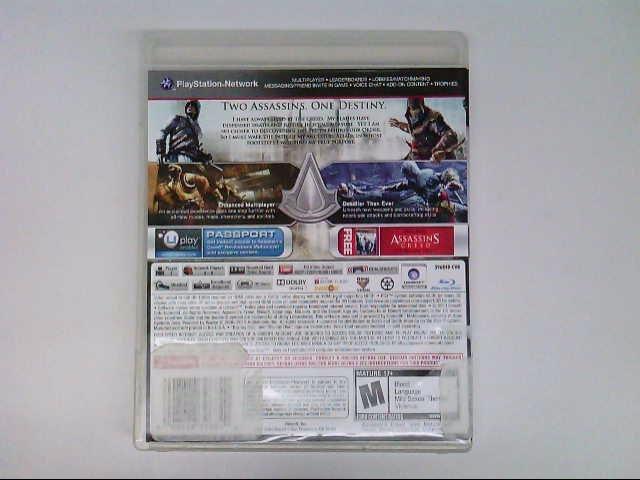 PS3 ASSASSINS CREED REVELATIONS SIGNATURE EDITION