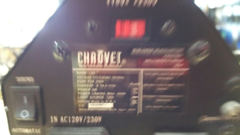 CHAUVET Stage Lighting/Effect LX5