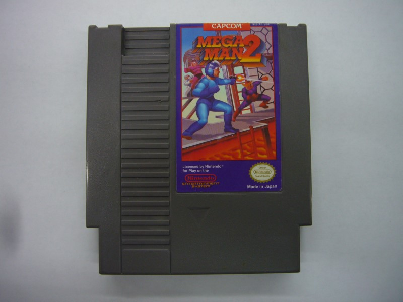 NINTENDO NES Game MEGAMAN 2 *CARTRIDGE ONLY*
