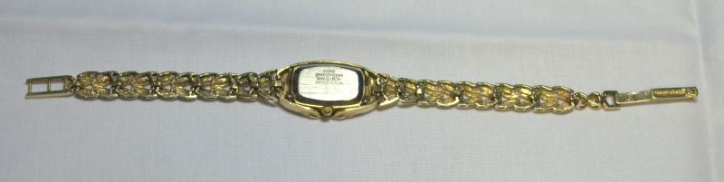Geneve Classic 14K Gold Japanese Movement Women's Quartz Watch