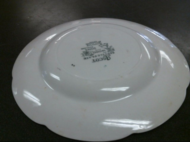 WOOD AND SONS Collectible Plate/Figurine SERVICE PLATE