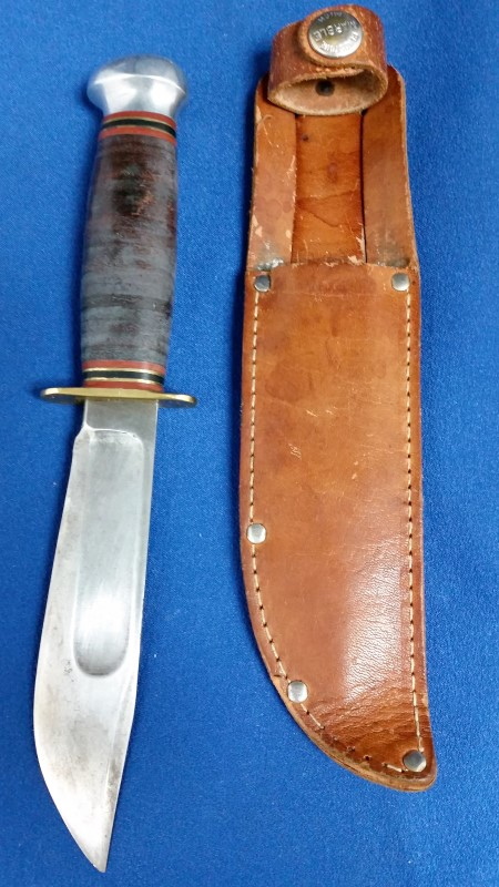 MARBLES CUTLERY HUNTING KNIFE GLADSTONE