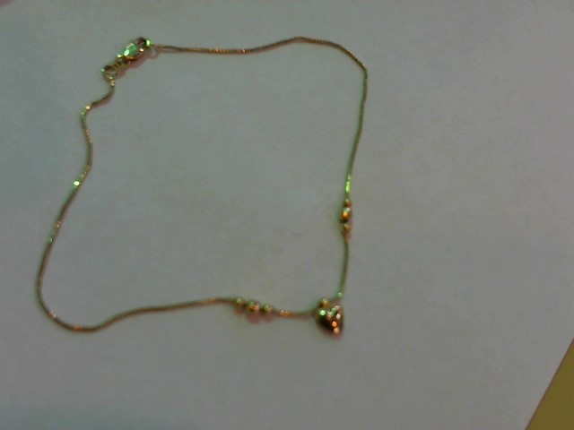 "10"" Gold Fine Chain 14K Yellow Gold 1.7g"