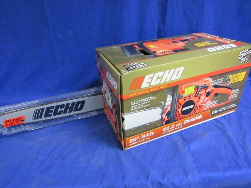 "ECHO CS-490 20"" CHAINSAW"