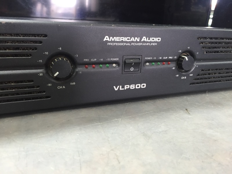 AMERICAN AUDIO Musical Instruments Part/Accessory AUDIOVLP600