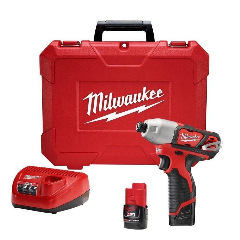 MILWAUKEE 12V IMPACT DRIVER 2450-20